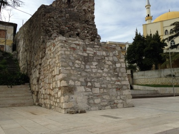Old wall Durres