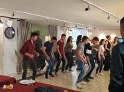 Durres students dancing